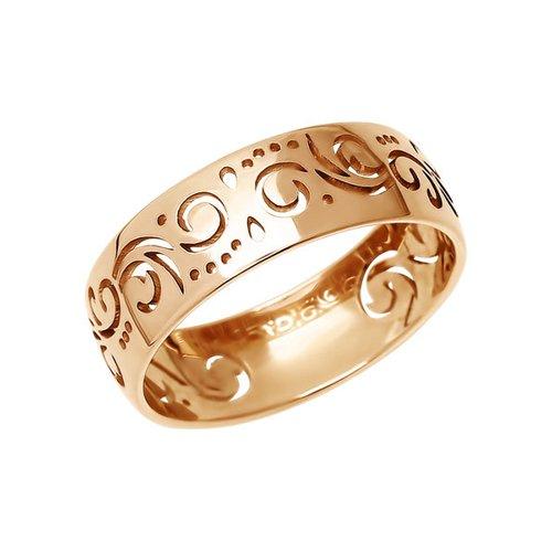 Ажурное обручальное кольцо SOKOLOV