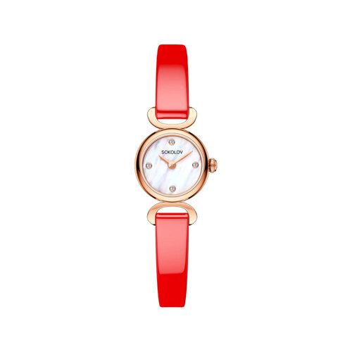 Женские золотые часы (212.01.00.000.01.07.3) - фото №2