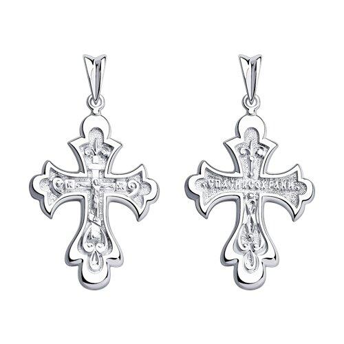 Крест SOKOLOV из серебра фото