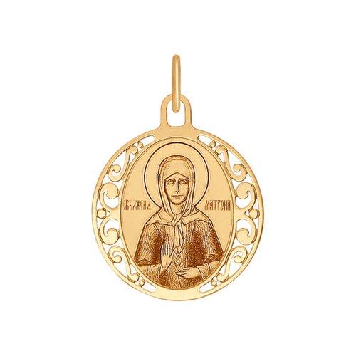 Нательная икона Матроны Московской