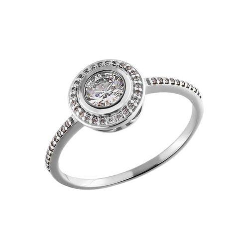 Кольцо с камнями swarovski SOKOLOV