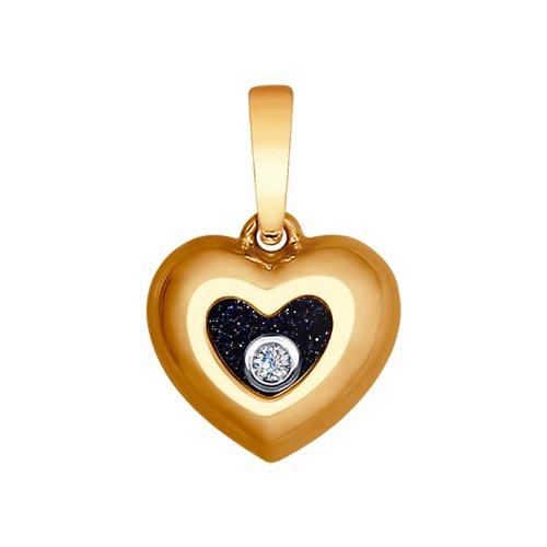 Подвеска «Сердце» (1030588) - фото