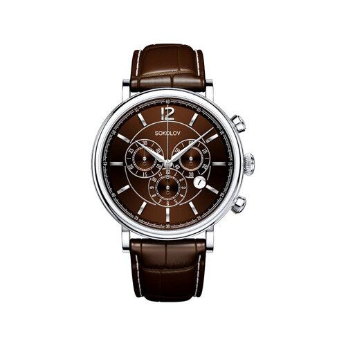 Мужские серебряные часы (125.30.00.000.06.02.3) - фото №2
