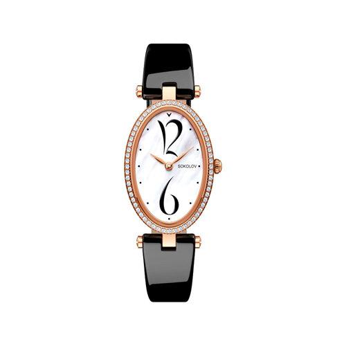 Женские золотые часы (236.01.00.100.05.04.2) - фото №2