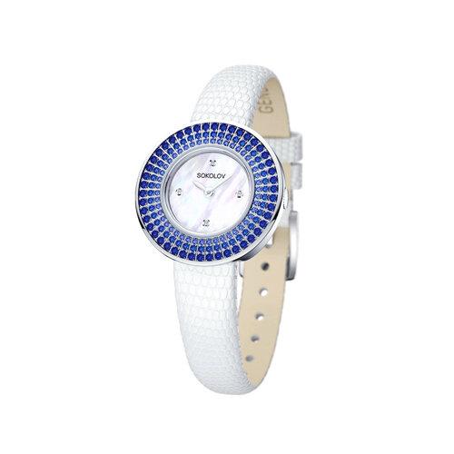 Женские серебряные часы (128.30.00.007.01.01.2) - фото