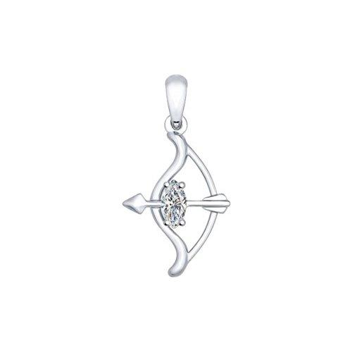 Кулон из серебра «Знак зодиака Стрелец» цена