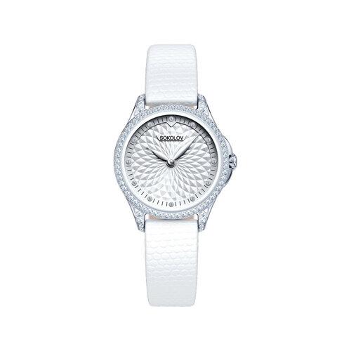 Женские серебряные часы (137.30.00.001.03.02.2) - фото №2