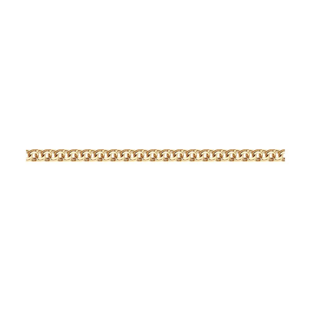 Браслет SOKOLOV из золочёного серебра с алмазной гранью обручальное кольцо sokolov из золочёного серебра с алмазной гранью