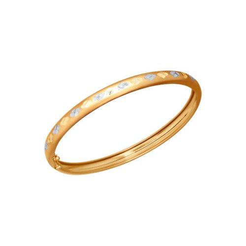 Жесткий браслет с алмазной гранью SOKOLOV