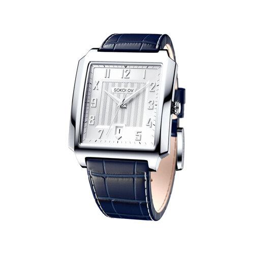 Мужские серебряные часы (134.30.00.000.03.02.3) - фото