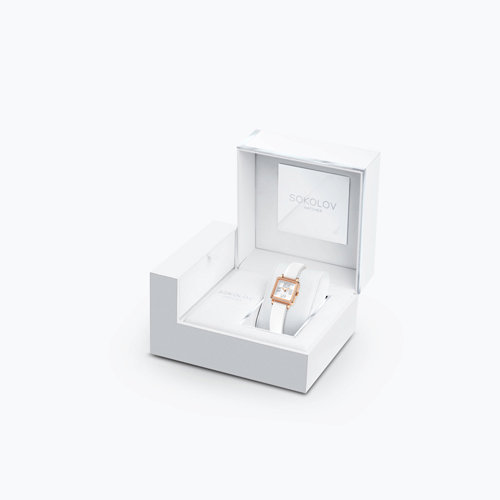 Женские золотые часы (232.01.00.100.01.02.2) - фото №4
