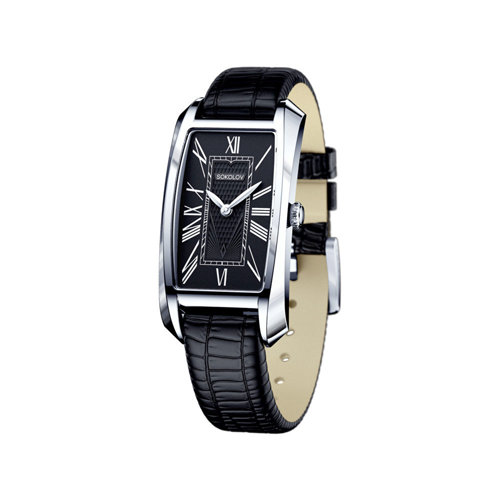 Женские серебряные часы (120.30.00.000.02.01.2) - фото