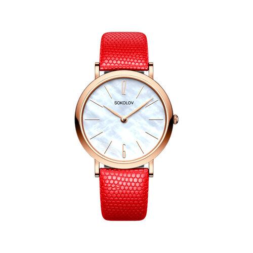 Женские золотые часы (204.01.00.000.06.04.2) - фото №2