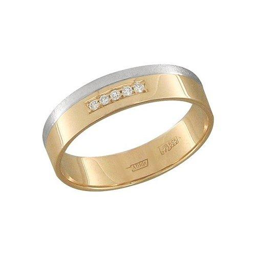 цена на Обручальное кольцо SOKOLOV из золота с бриллиантами