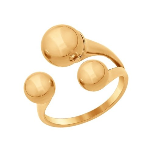Кольцо из золота (017036) - фото