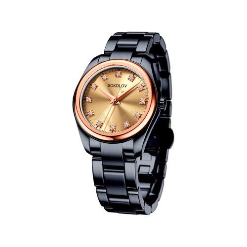 Женские часы из золота и стали Black Edition (140.01.72.000.03.01.2) - фото