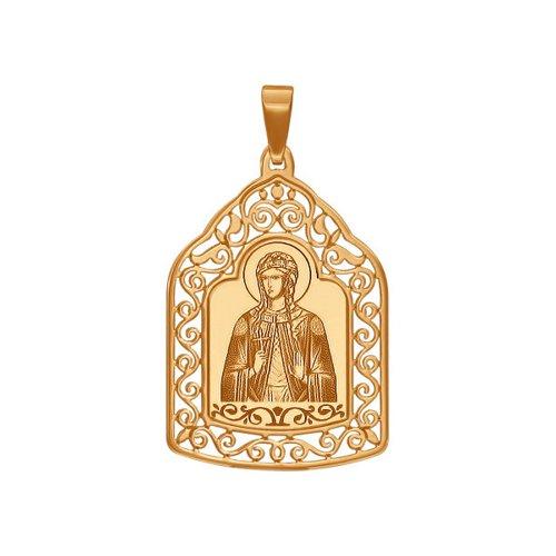Нательная иконка «Святая мученица Светлана» SOKOLOV святая мученица анастасия романова