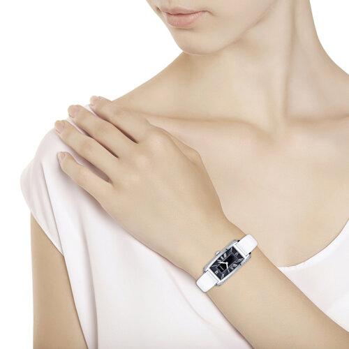 Женские серебряные часы (119.30.00.001.02.02.2) - фото №3