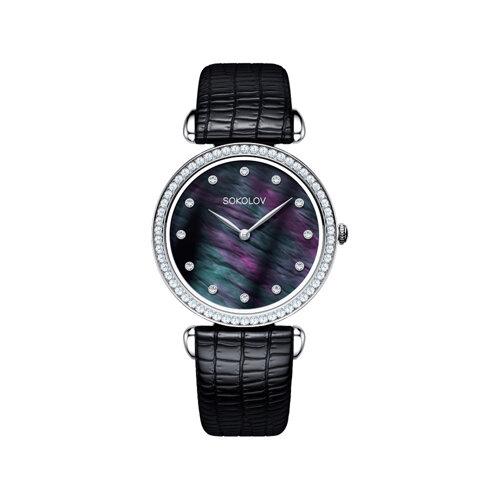 Женские серебряные часы (106.30.00.001.06.01.2) - фото №2