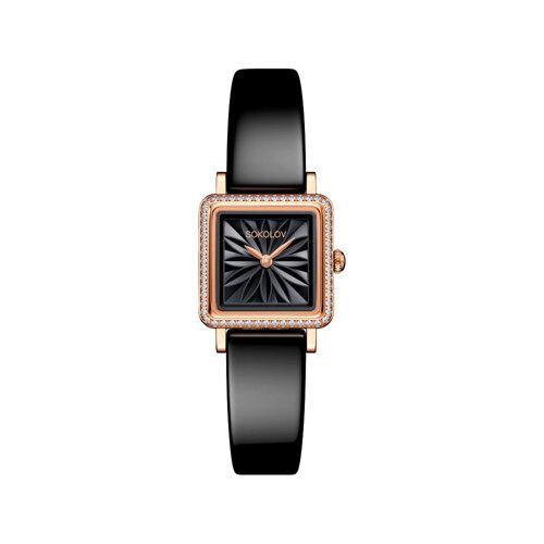 Женские золотые часы (232.01.00.001.04.04.2) - фото №2