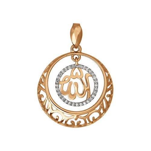 Подвеска из золота с бриллиантами