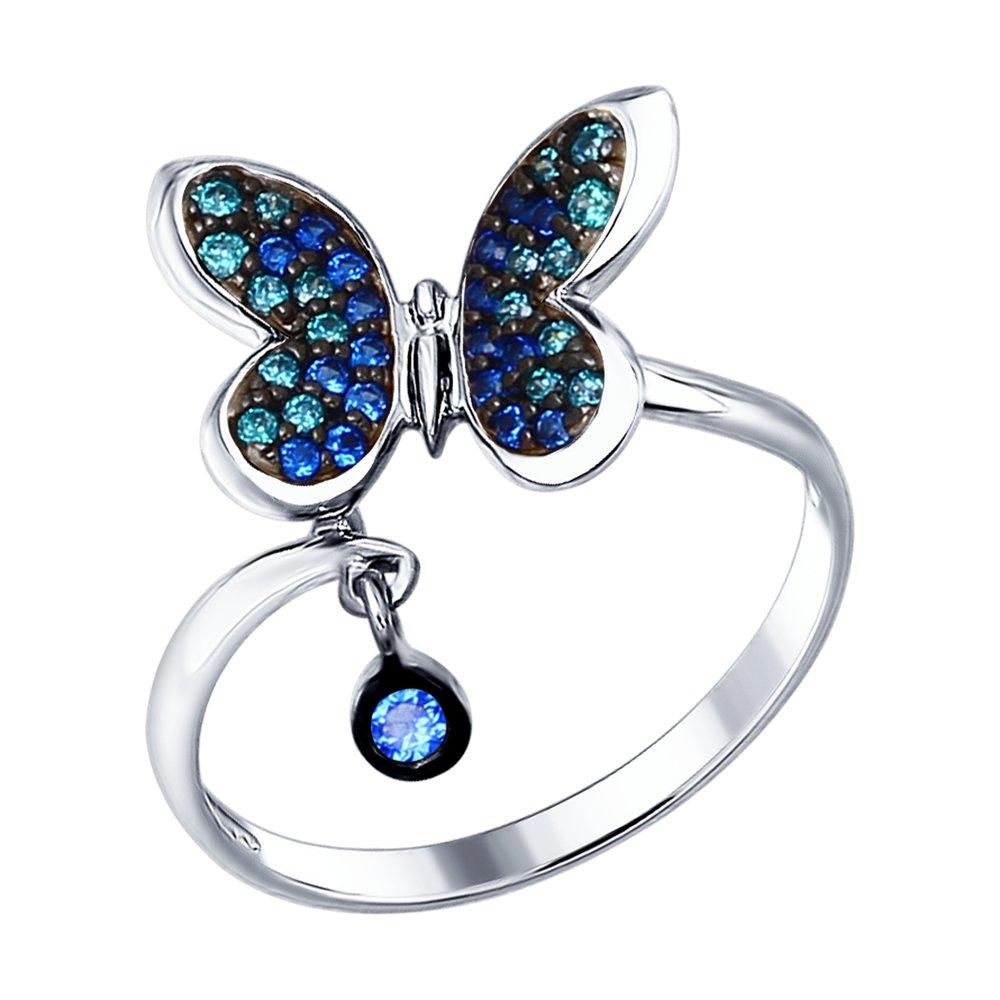 Кольцо «Бабочка» SOKOLOV ювелирное кольцо sokolov