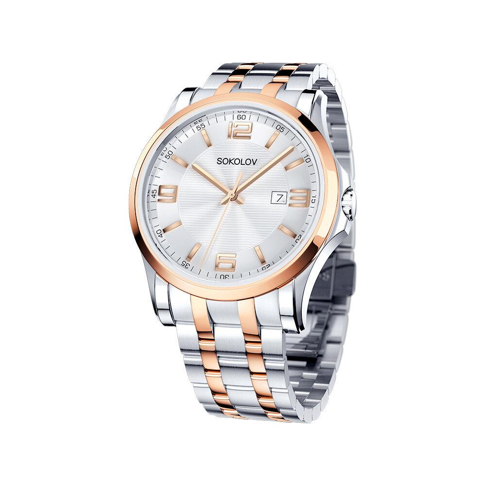 Мужские стальные часы SOKOLOV фото