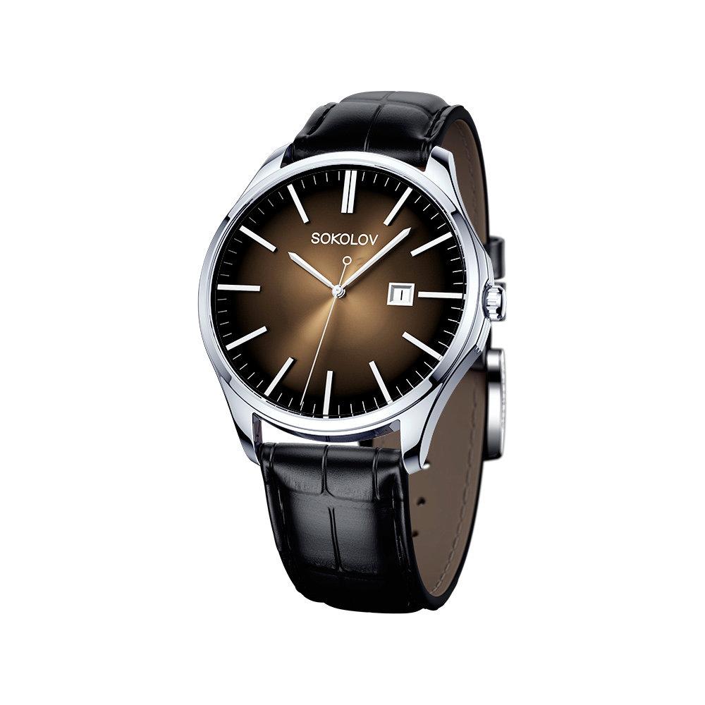 Мужские серебряные часы SOKOLOV мужские часы locman 0425bkcbnnk0sikrsk