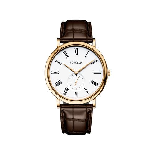 Мужские золотые часы (209.02.00.000.01.02.3) - фото №2