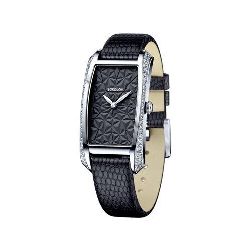 Женские серебряные часы (119.30.00.001.04.04.2) - фото