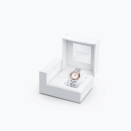 Женские часы из золота и стали (140.01.71.000.01.01.2) - фото №4