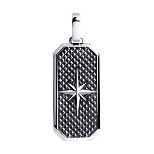 Подвеска из чернёного серебра (95030162) - фото