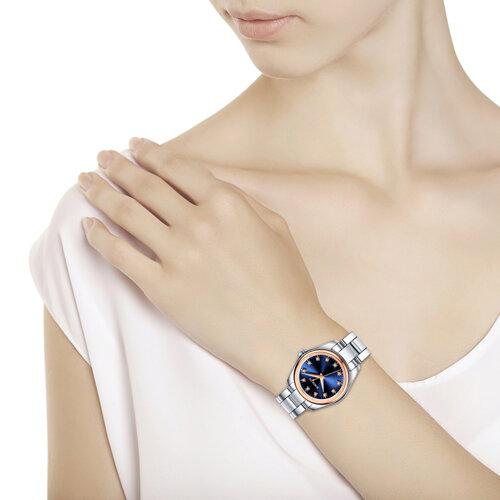Женские часы из золота и стали (140.01.71.000.05.01.2) - фото №3
