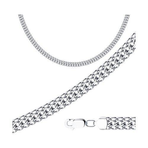 Цепь из серебра с алмазной гранью (968150904) - фото