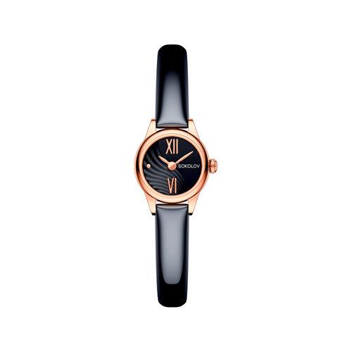 Женские золотые часы (211.01.00.000.05.05.3) - фото №2