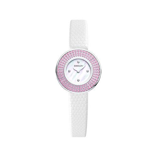 Женские серебряные часы (128.30.00.002.01.01.2) - фото №2