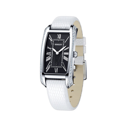 Женские серебряные часы (119.30.00.001.02.02.2) - фото