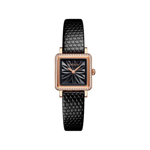 Женские золотые часы (232.01.00.100.04.01.2) - фото №2