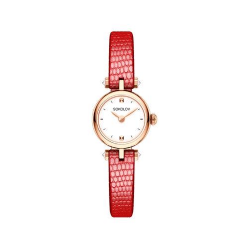 Женские золотые часы (215.01.00.000.01.03.2) - фото №2