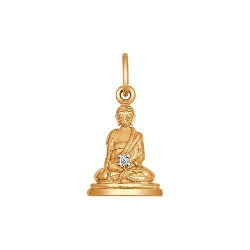 Подвеска «Будда» из золота