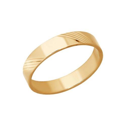 Обручальное кольцо SOKOLOV из золота с алмазной гранью кольцо sokolov из золота с алмазной гранью