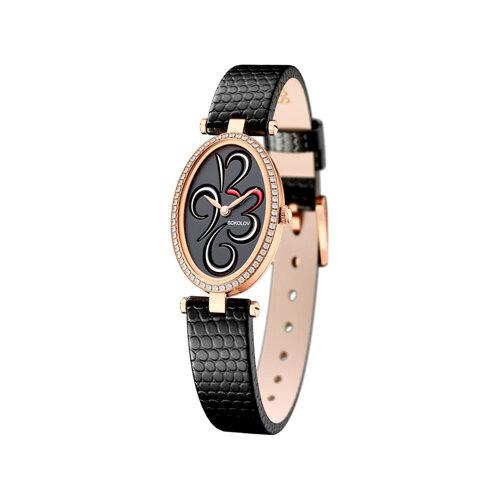 Женские золотые часы (236.01.00.100.04.01.2) - фото