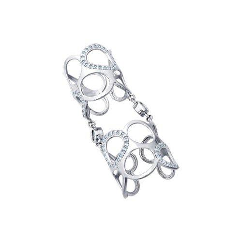 Кольцо SOKOLOV из серебра на две фаланги