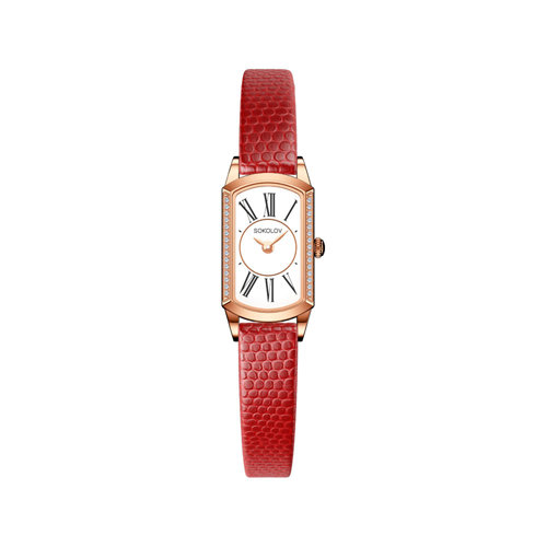 Женские золотые часы (222.01.00.100.01.04.3) - фото №2