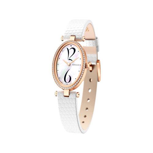 Женские золотые часы (236.01.00.100.05.02.2) - фото