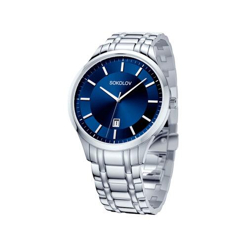 Мужские стальные часы (312.71.00.000.02.01.3) - фото