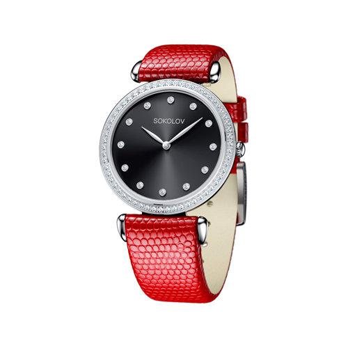 Женские серебряные часы (106.30.00.001.07.03.2) - фото