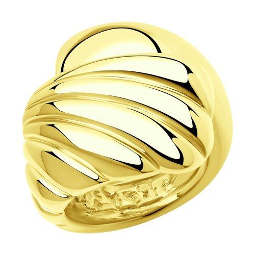 Кольцо из серебра (94014503) - фото