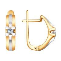 Серьги из золота с бриллиантами