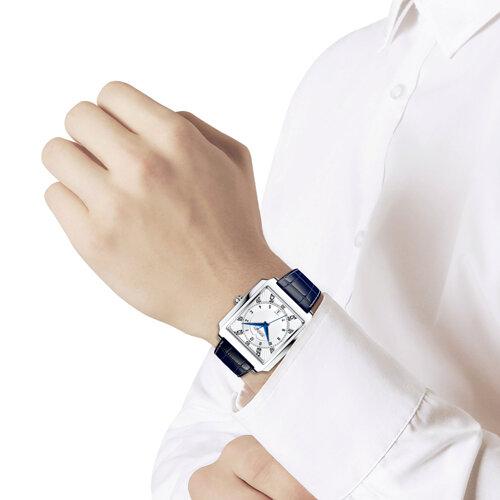 Мужские серебряные часы (134.30.00.000.08.02.3) - фото №3
